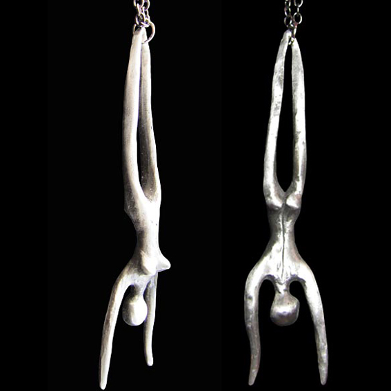 diving woman New Zealand made and designed jewellery